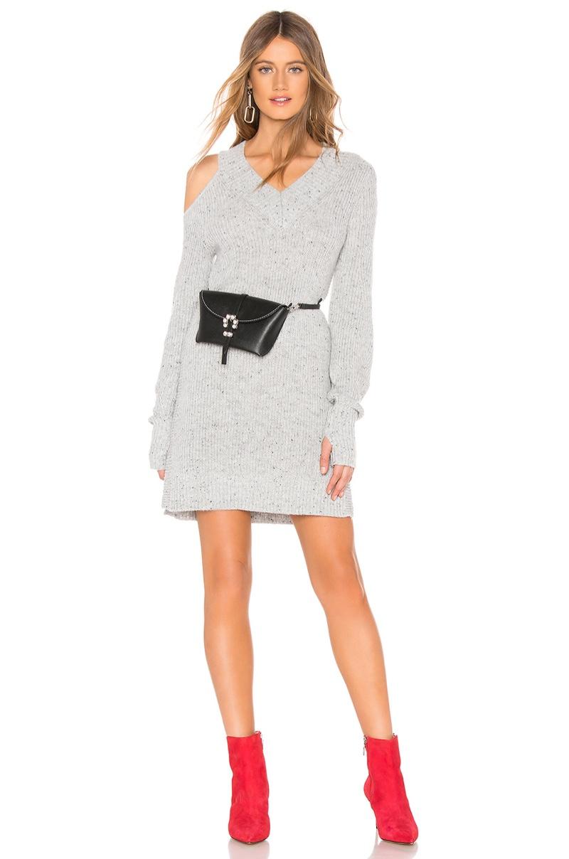 Marled x Olivia Culpo Cut Out Sweater Dress $138