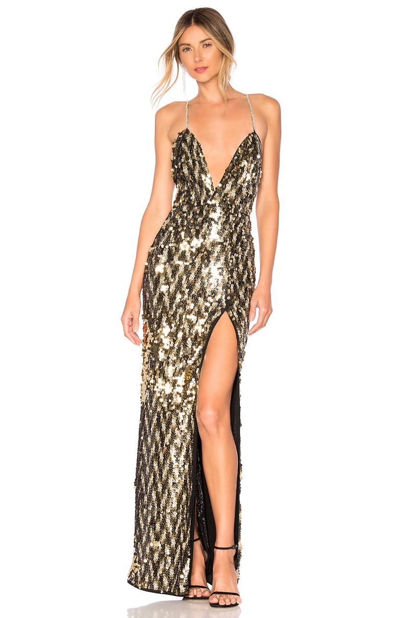Michael Costello x REVOLVE Sydney Gown $258