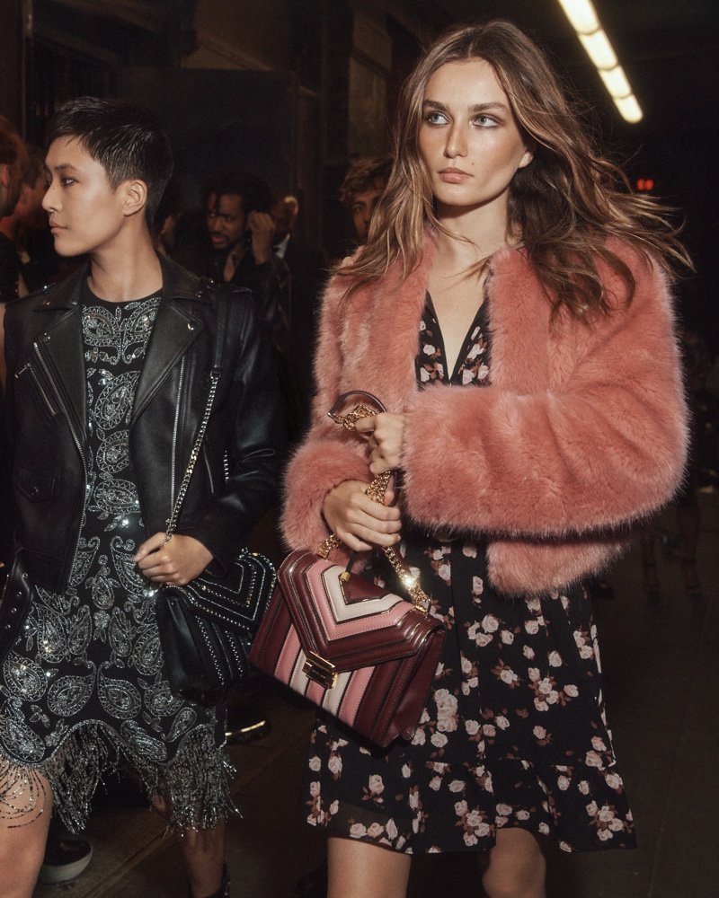 Andreea Diaconu stars in Michael Michael Kors holiday 2019 campaign