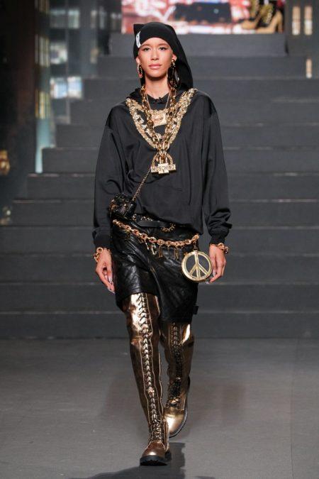 Naomi Campbell, Gigi Hadid Walk the Moschino x H&M Collection Runway!