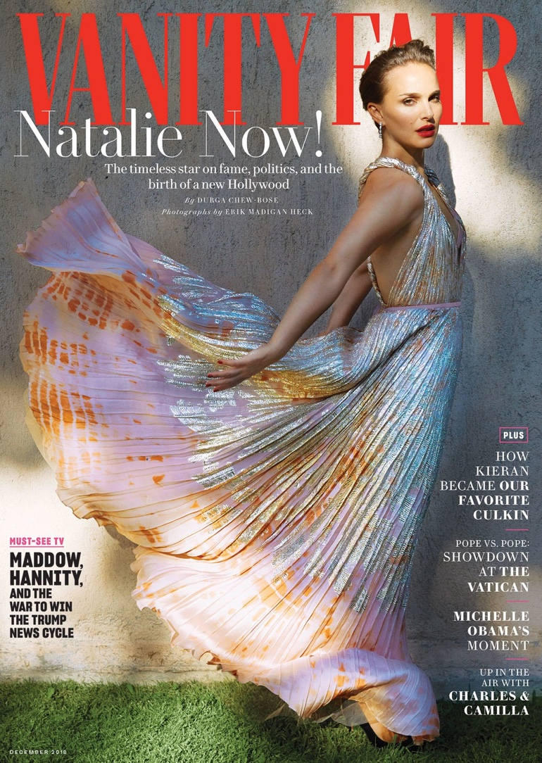 Natalie Portman on Vanity Fair November 2018 Cover