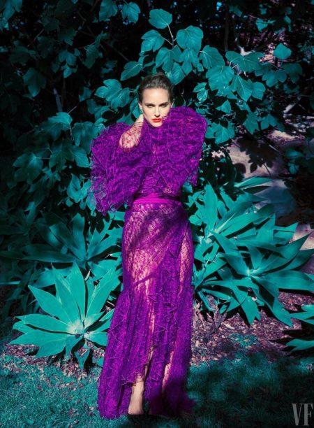 Natalie Portman Wears Stunning Looks for Vanity Fair