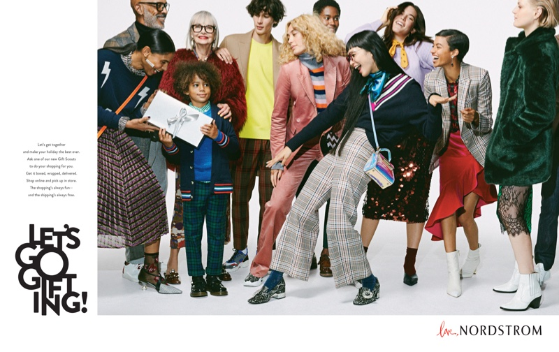 Nordstrom launches Let's Go Gifting Holiday 2018 campaign