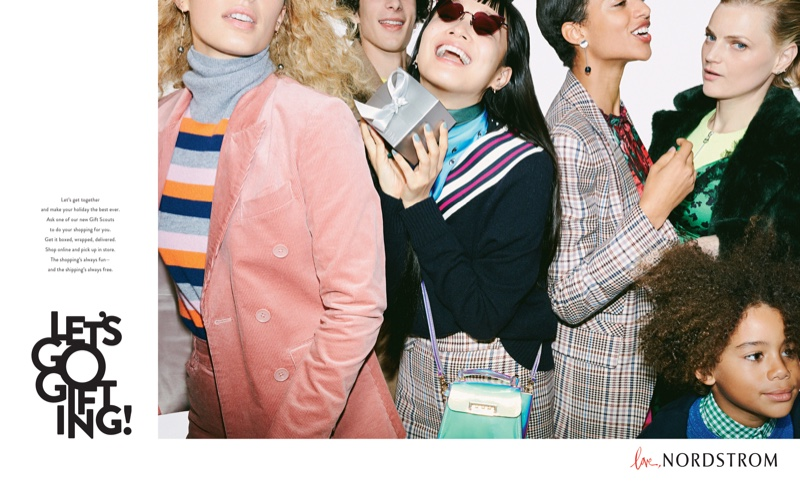 The joy of fashion takes the spotlight in Nordstrom Holiday 2018 campaign
