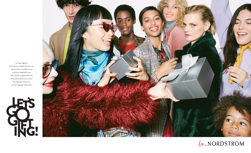 A photo from Nordstrom Let's Go Gifting Holiday 2018 campaign