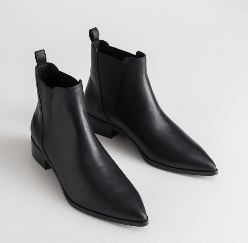 & Other Stories Leather Chelsea Boots $149