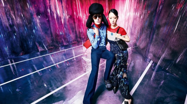 Sora Choi fronts Prada resort 2019 campaign