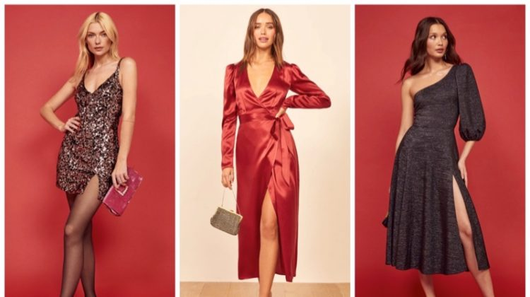 Best Reformation party dresses