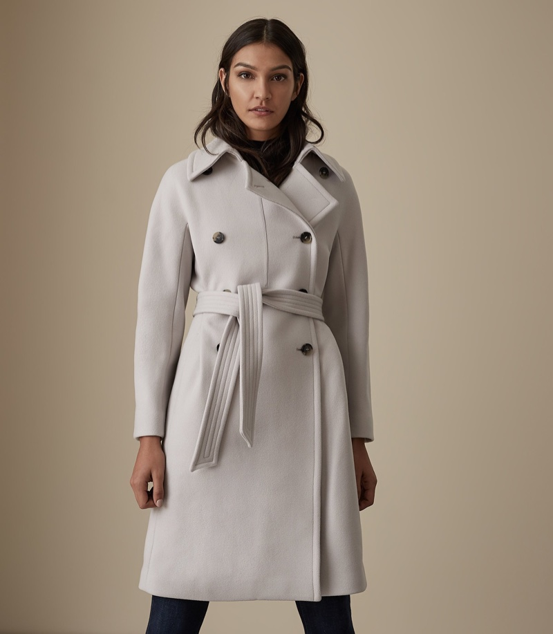Reiss Eilish Double Breasted Coat $695