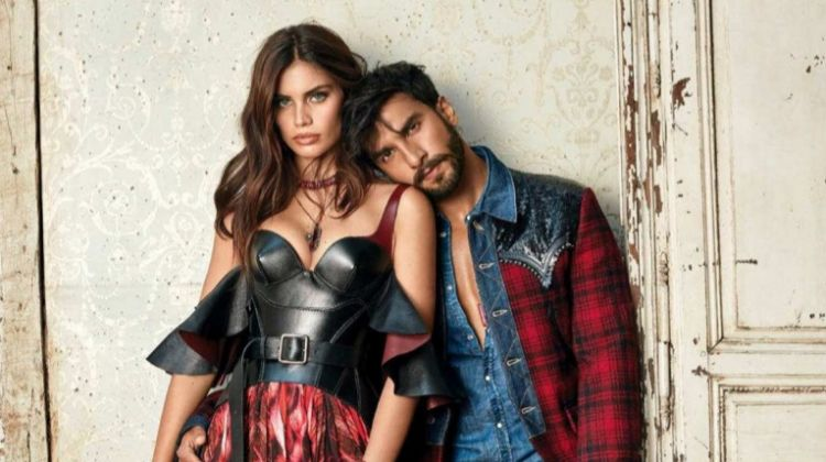 Sara Sampaio Poses in Statement Styles for Vogue India