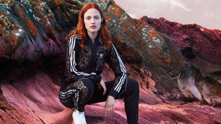 Julia Banas stars in Stella McCartney x adidas Stan Smith sneaker campaign