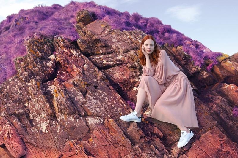 Stella McCartney x adidas Stan Smith sneaker campaign