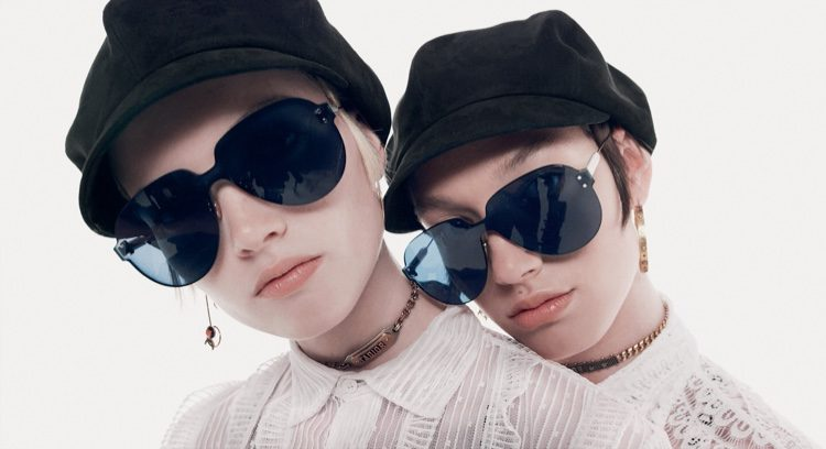 Ruth, Lineisy, Lea & McKenna Wear Chic Shades for Dior Magazine