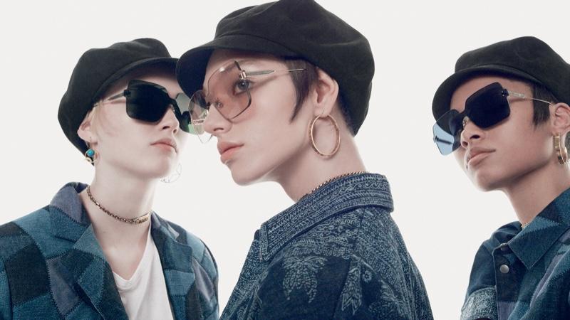 Ruth, Lineisy, Lea & McKenna Wear Chic Shades for Dior Magazine