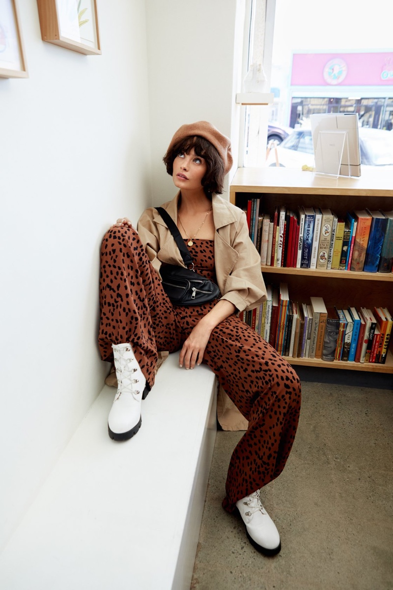 Nasty Gal Going Out Tonight Leopard Top and Fast Track Leopard Pants