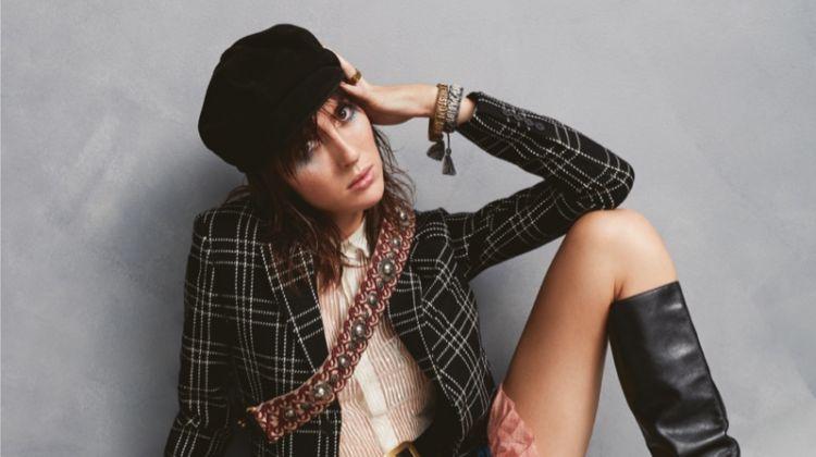 Teddy Quinlivan Models Autumn Styles for Glass Magazine