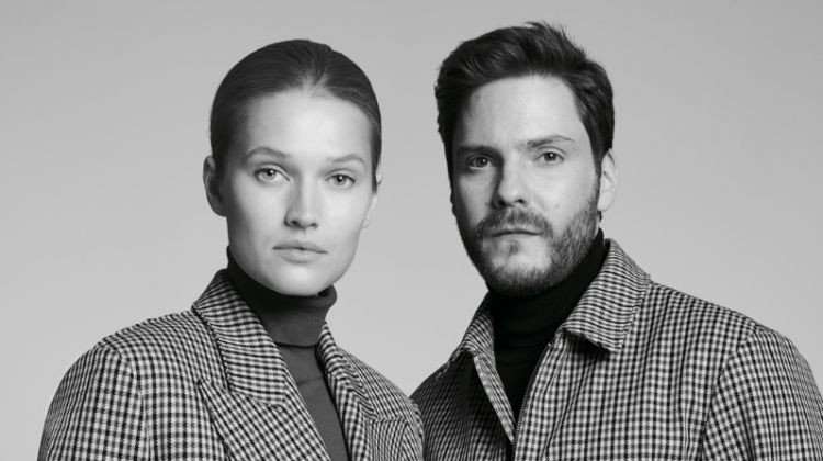 Toni Garrn and Daniel Bruhl star in BOSS Made in Germany campaign