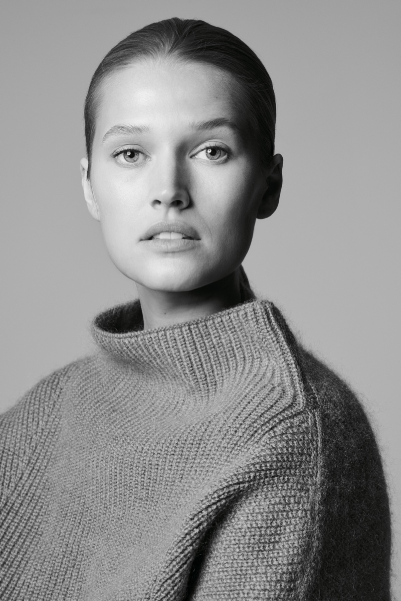 Toni Garrn fronts BOSS Made in Germany campaign
