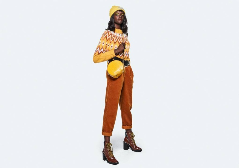 Duckie Thot fronts Topshop fall-winter 2018 campaign