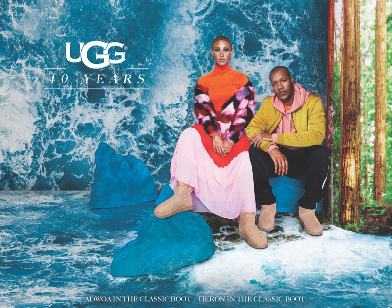 UGG spotlights the Classic boot in its 40th anniversary campaign