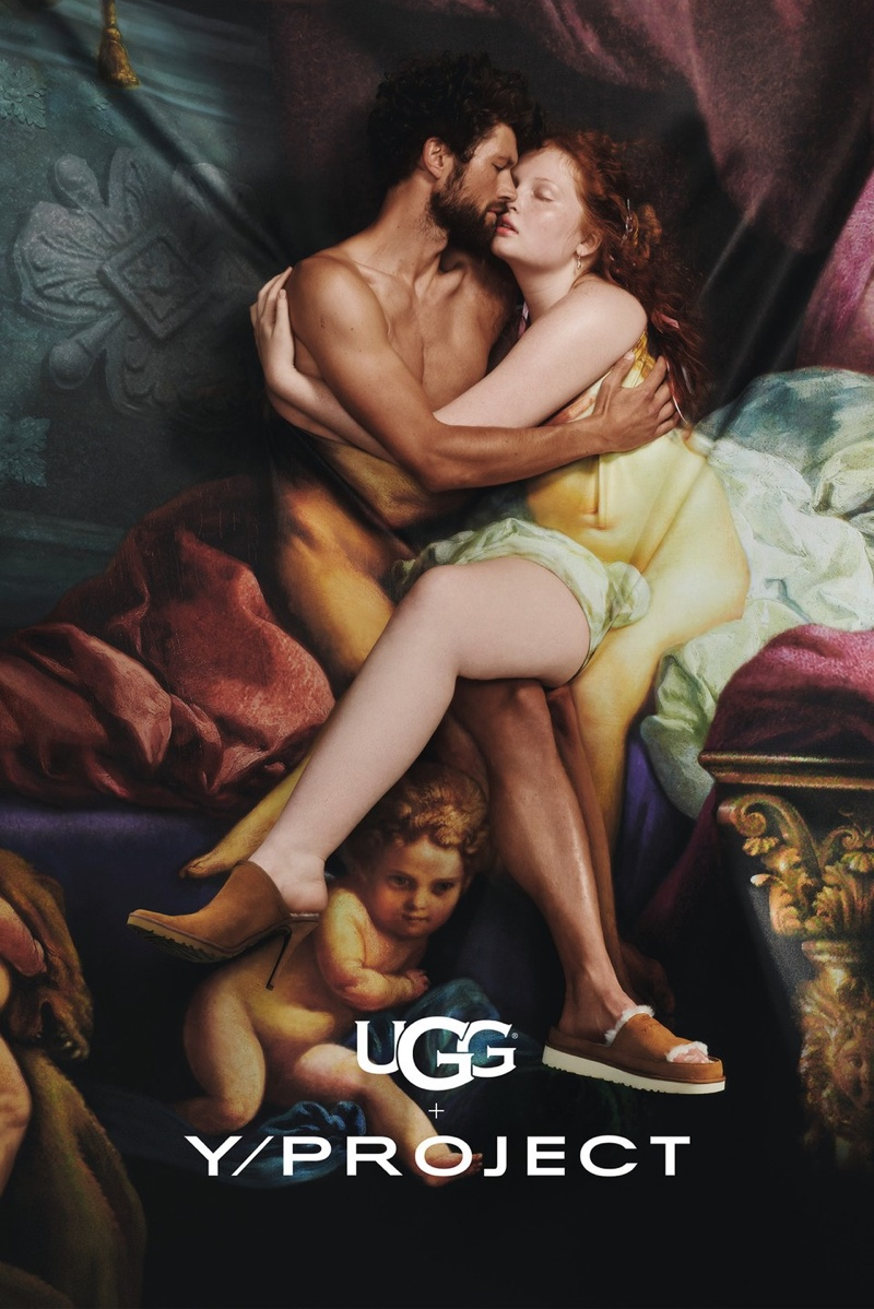 UGG x Y/Project channels classic paintings for its advertising campaign