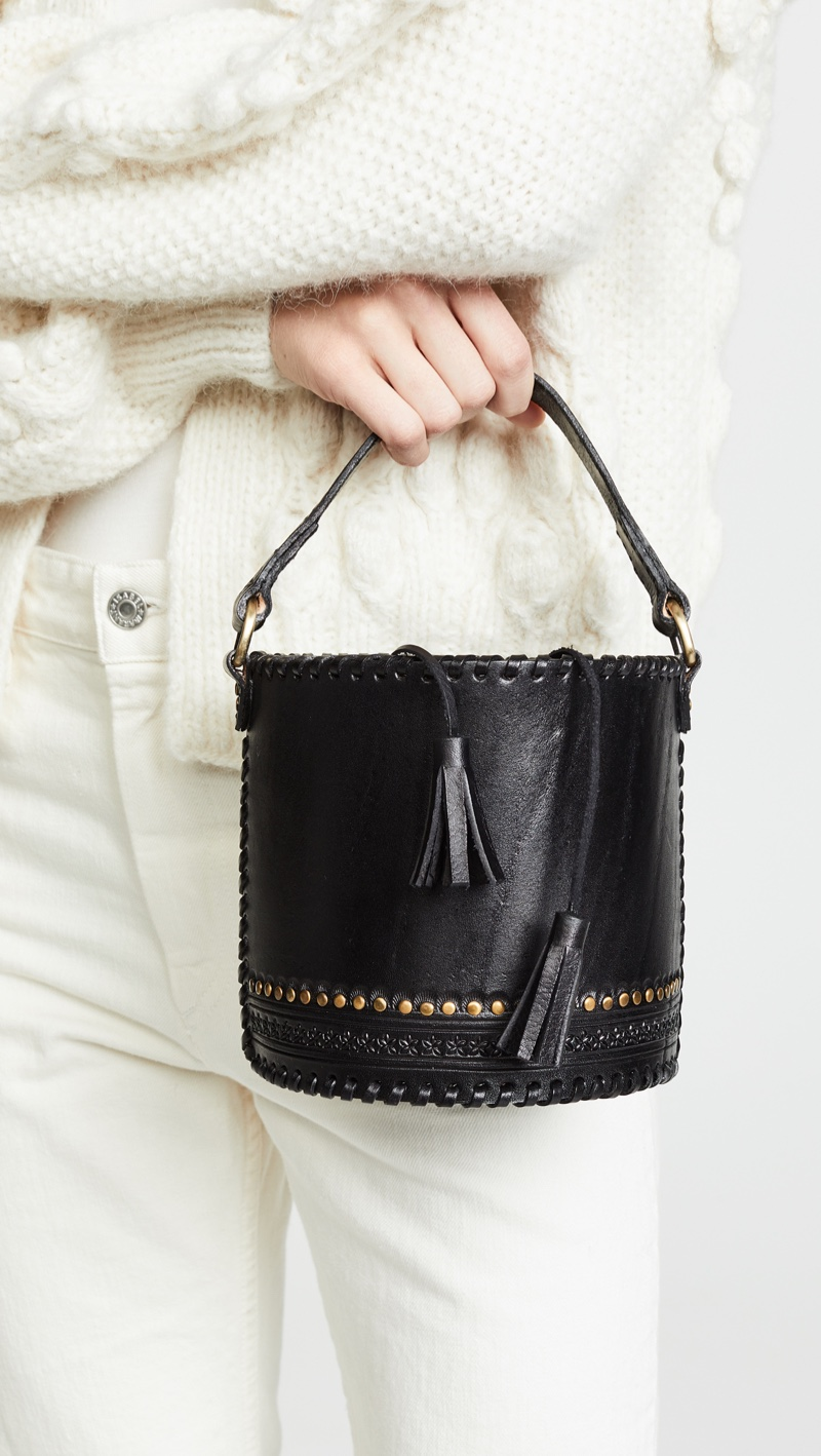 Ulla Johnson Andra Crossbody Bag in Black $595
