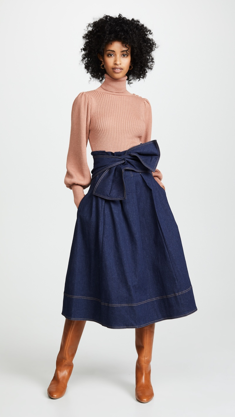 Ulla Johnson Virgil Skirt $345