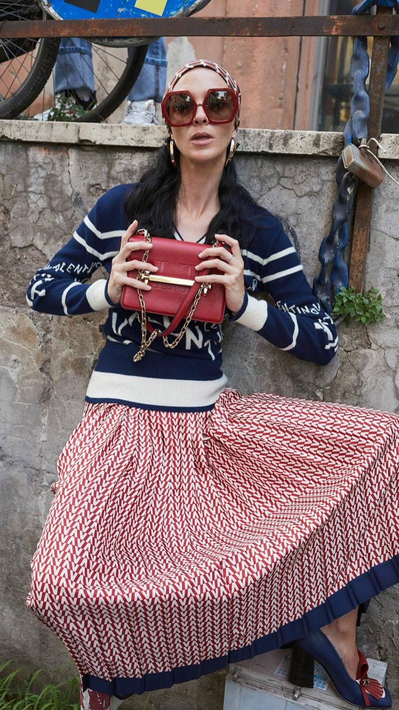 Mariacarla Bosocno stars in Valentino resort 2019 campaign