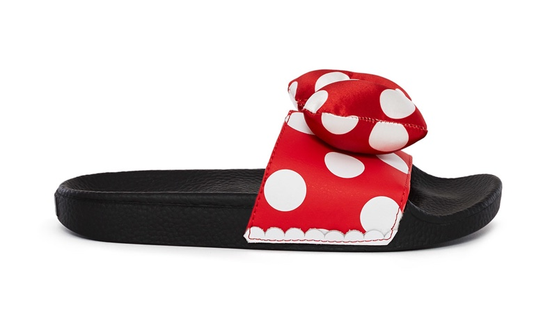 Vault by Vans x Disney Minnie's Bow Slide On Sandal $45