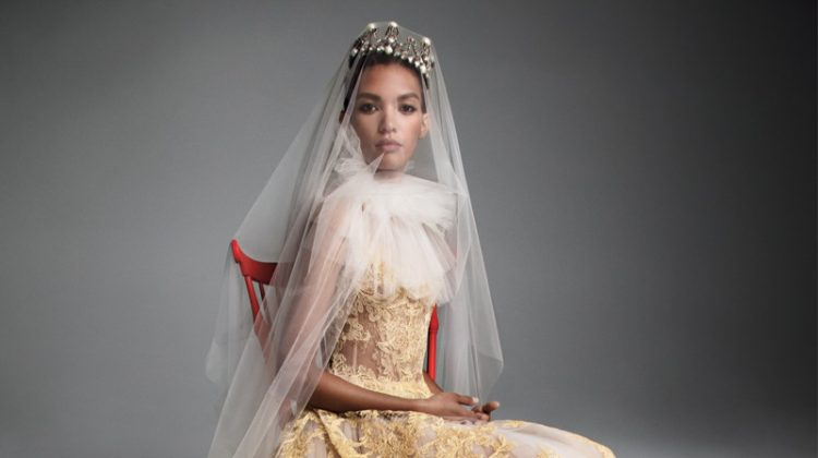 Vera Wang Bridal's Fall 2019 Dresses Are Made for Royalty