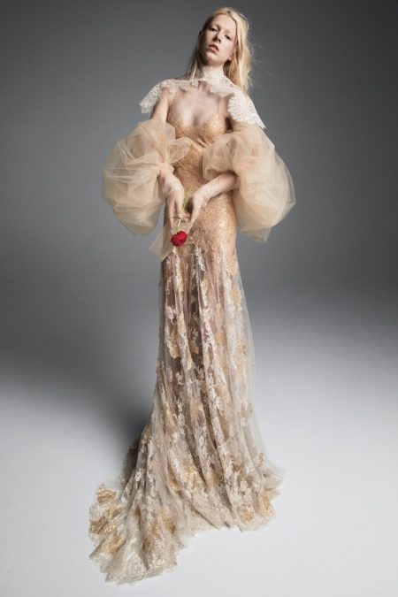 Vera Wang Bridal's Fall 2019 Dresses Are Made for Royalty