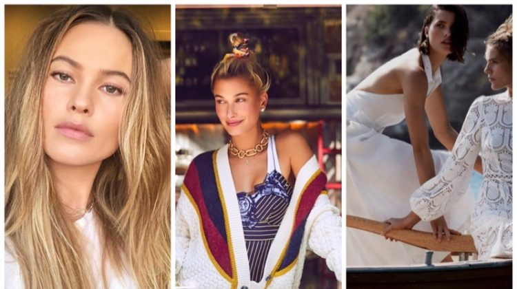 Week in Review | Hailey Baldwin for Bazaar, Behati Returns to VS, Zimmermann Swim + More