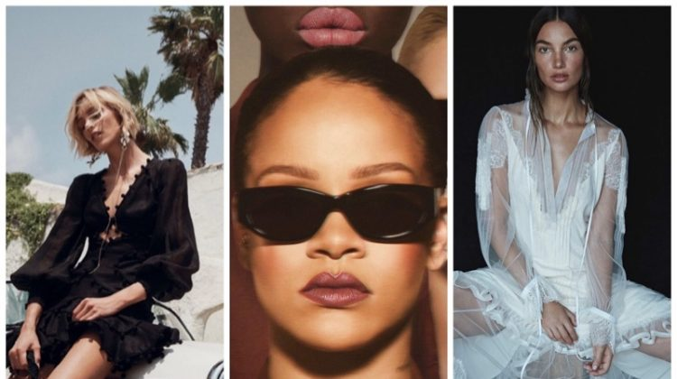 Week in Review | Lily Aldridge's New Cover, Rihanna x Fenty Beauty, Anja Rubik for Zimmermann + More