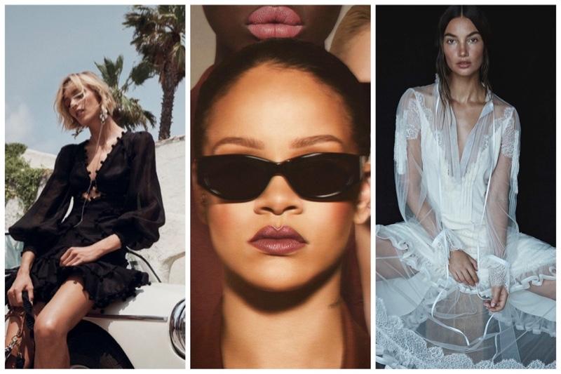 Week in Review | Lily Aldridge's New Cover, Rihanna x Fenty Beauty, Anja Rubik for Zimmermann + More