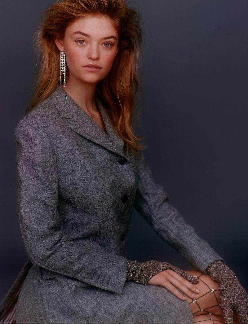 Willow Hand Models Statement Jackets for Wonderland Magazine