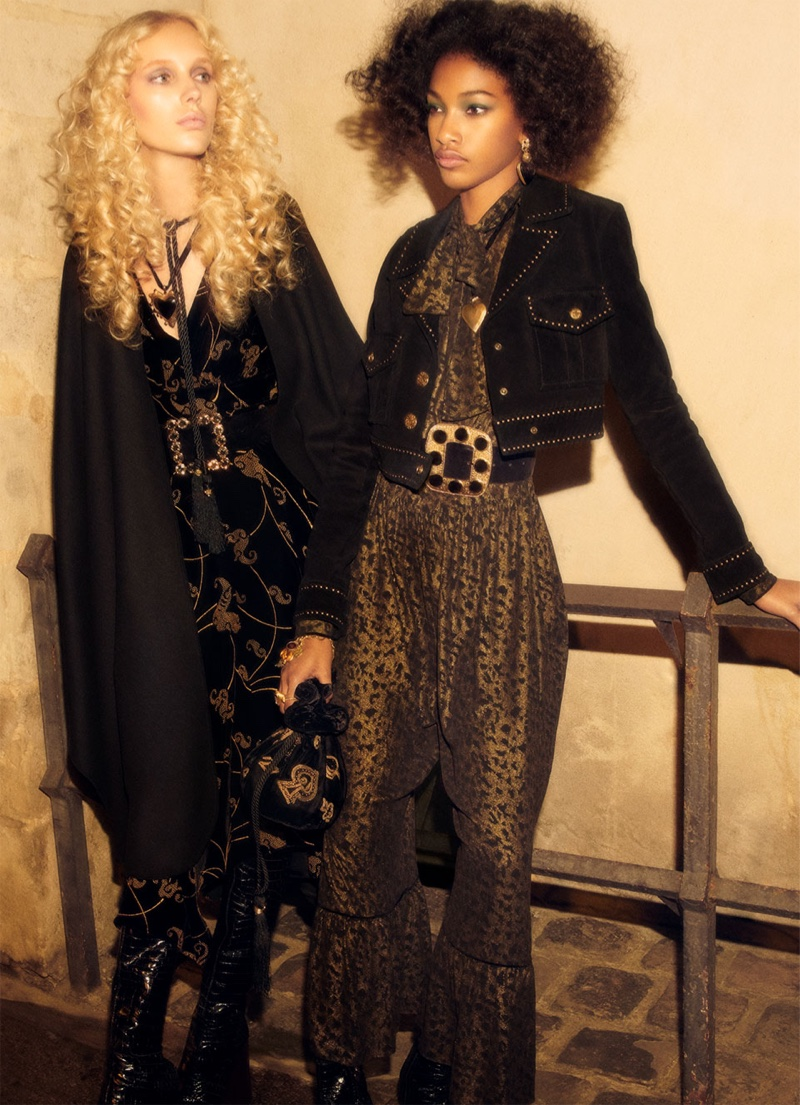 Jessie Bloemendaal and Naomi Chin Wing star in Zara Collection fall-winter 2018 campaign