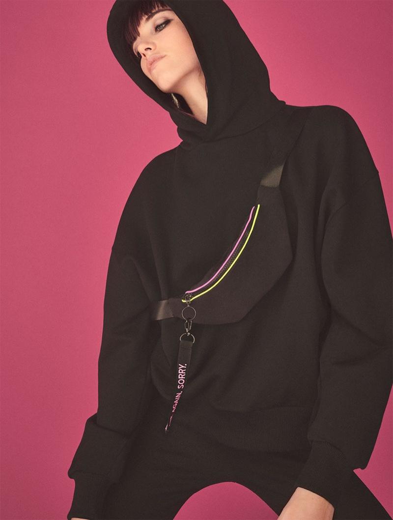 Zara Sweatshirt with Belt Bag