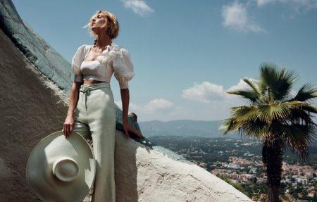 Anja Rubik fronts Zimmermann resort 2019 campaign