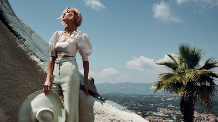 Anja Rubik fronts Zimmermann resort 2019 campaign