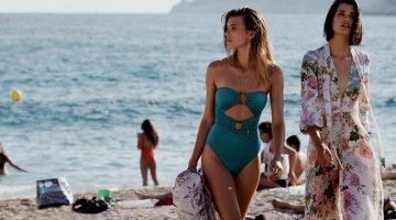 Beach fashion takes the spotlight in Zimmermann Swim resort 2019 campaign