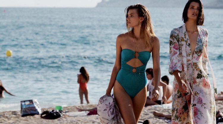Beach fashion takes the spotlight in Zimmermann Swim resort 2019 campaign