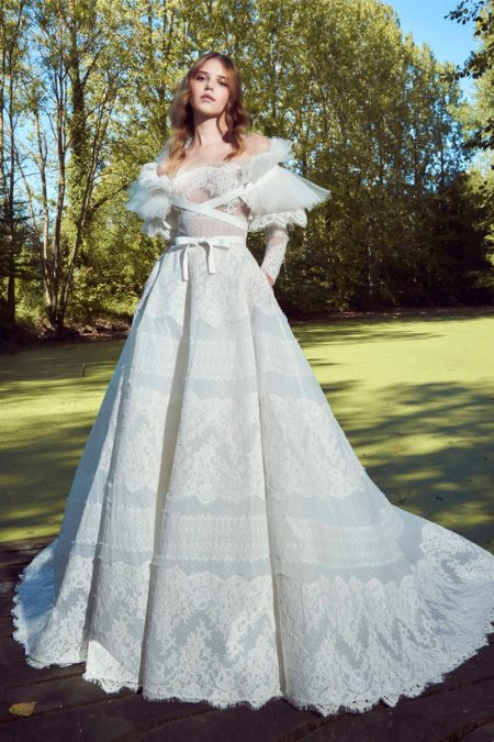 Zuhair Murad Bridal's Fall 2019 Line Features Heavenly Dresses