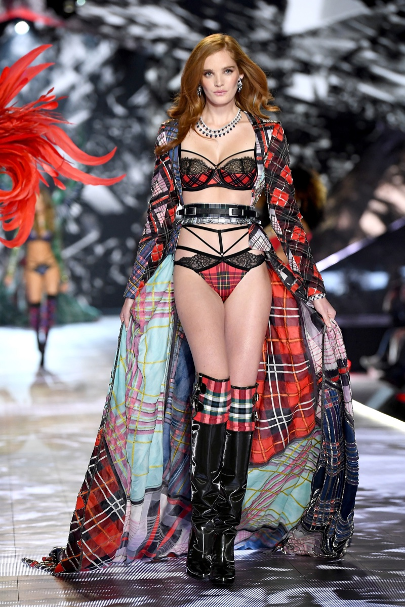 Alexina Graham walks the 2018 Victoria's Secret Fashion Show in New York City. Photo: Dimitrios Kambouris/Getty Images for Victoria's Secret