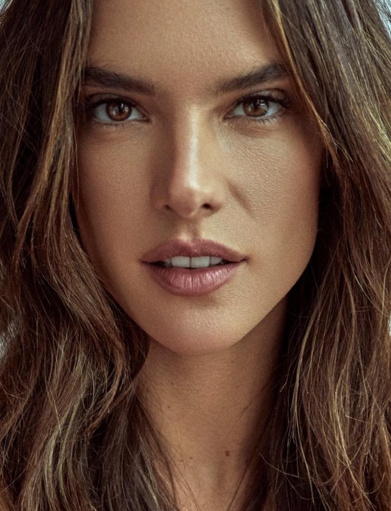 Alessandra Ambrosio Models Chic Fashion for Numero Russia