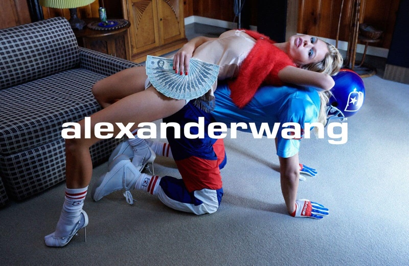Photo from Alexander Wang Collection 1 Drop 1 Campaign