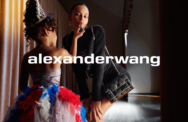 Alexander Wang unveils an image from Collection 1 Drop 1 campaign