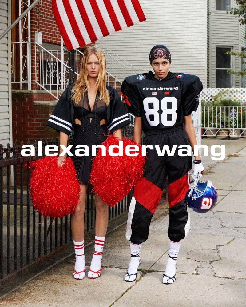 Alexander Wang Goes Americana for Collection 1 Drop 1 Campaign