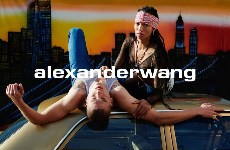 Adesuwa Aighewi fronts Alexander Wang Collection 1 Drop 1 campaign