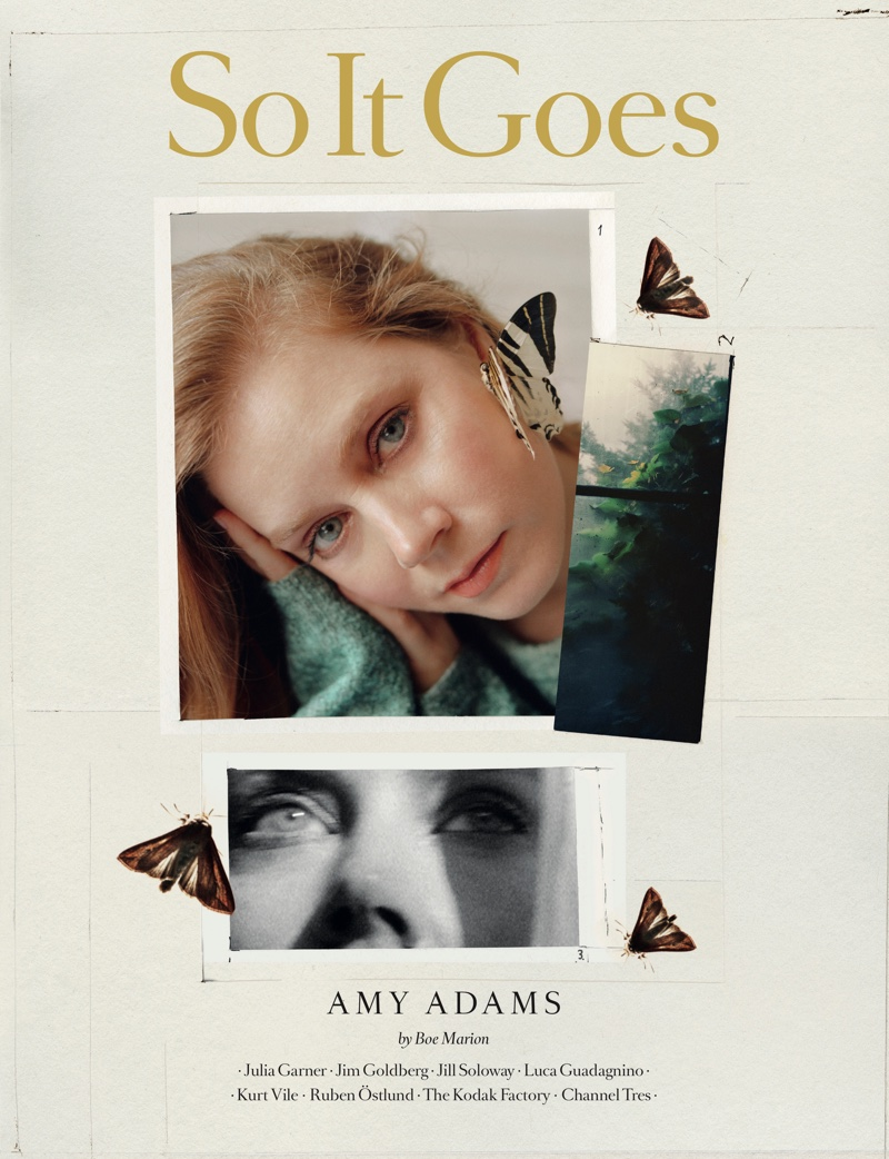 Amy Adams on So It Goes Magazine #12 Cover