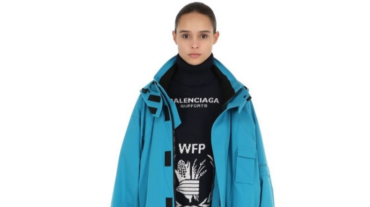 Balenciaga Oversized Nylon Parka $2170 (previously $3,100)